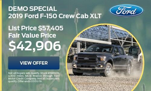 2019 Ford F-150 Crew Cab XLT