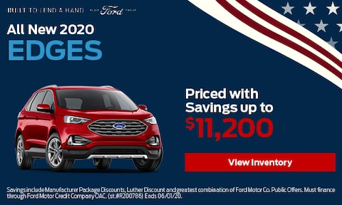 All New 2020 Edges Priced with Savings up to $11,200
