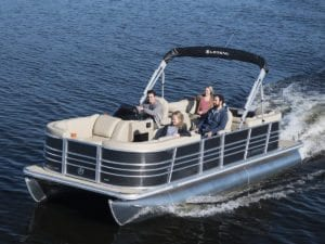2018 Legend Boats BAYSHORE LOUNGER + TAX