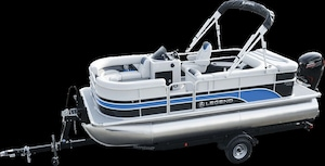 2018 Legend Boats Enjoy Cruising TRI-TUBE Package -