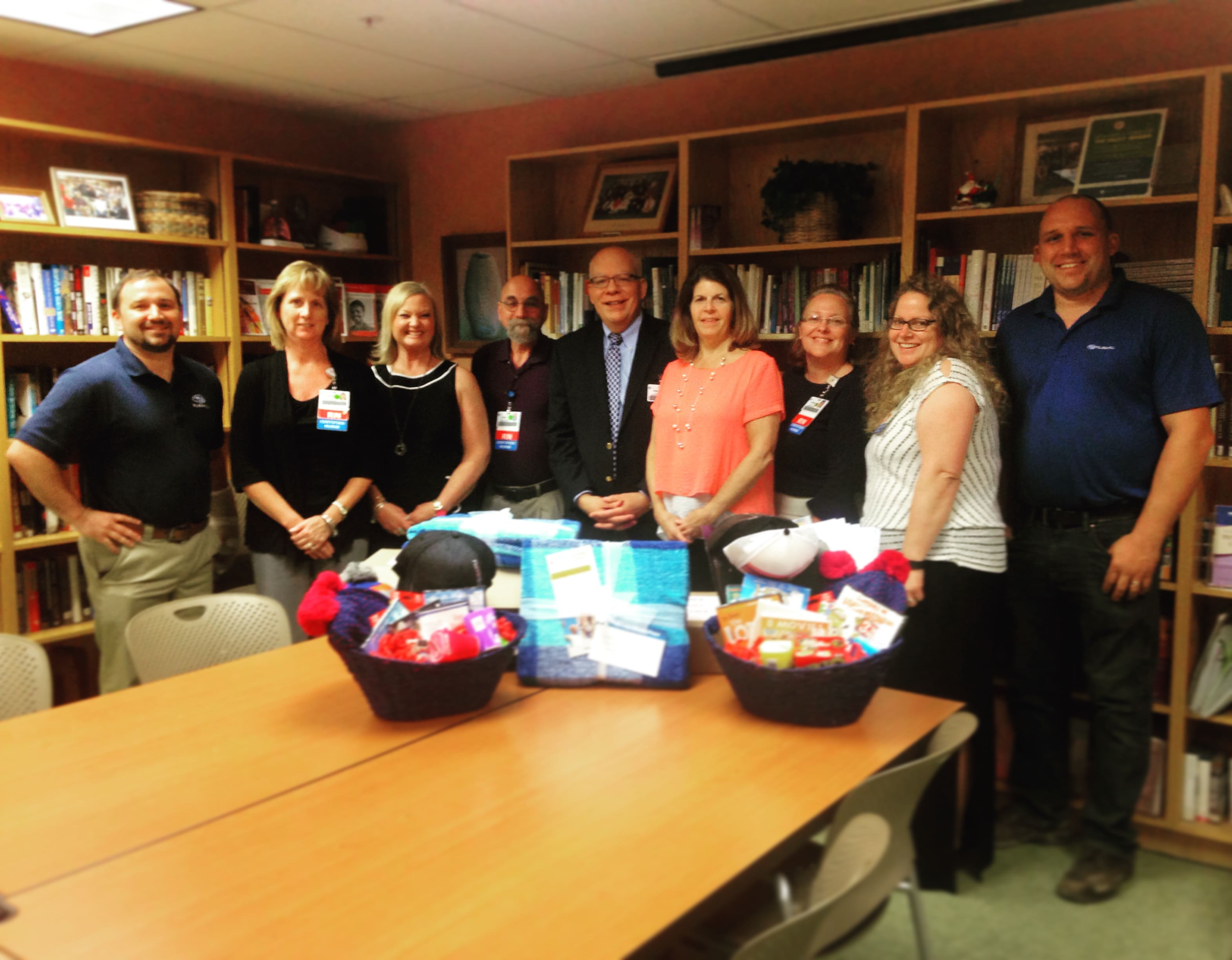 On June 22, 2016, Jared and Eric Lendrum visited the Charles R. Wood Cancer  Center at Glens Falls Hospital. North Country Subaru partnered with the  Albany ...