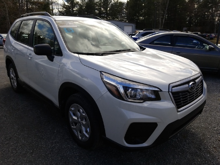 New 2019 Subaru Forester Standard SUV in Queensbury, NY