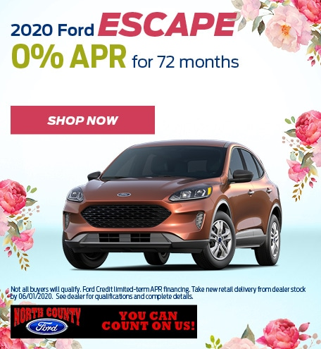 May 2020 Ford Escape
