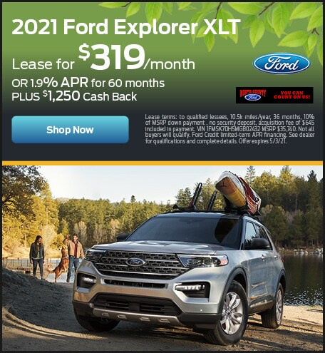 April 2021 Ford Explorer