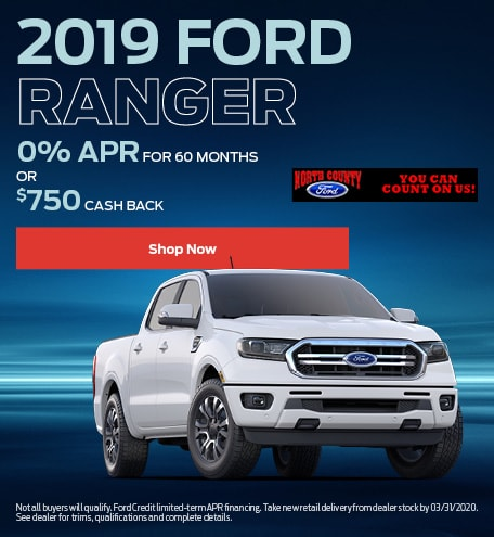 January 2019 Ford Ranger