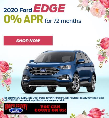 May 2020 Ford Edge