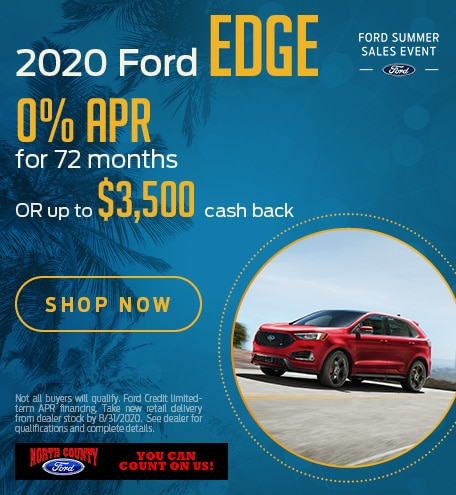 August 2020 Ford Edge