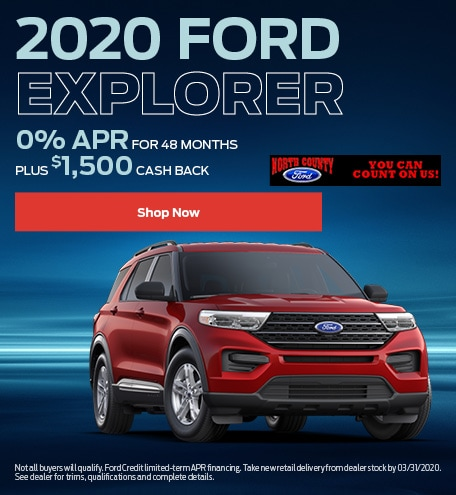 January 2020 Ford Explorer