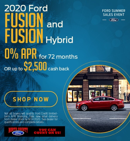 August 2020 Ford Fusion & Fusion Hybrid