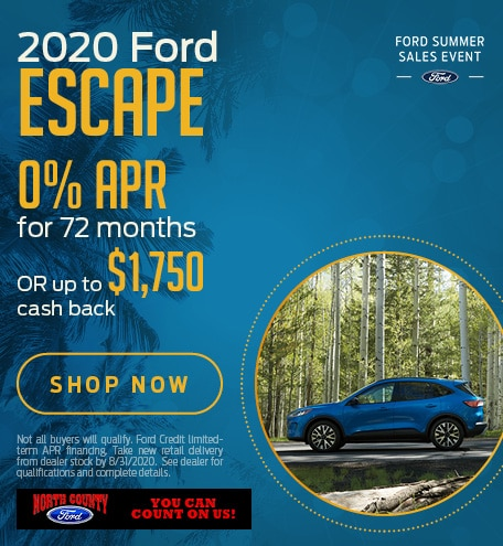 August 2020 Ford Escape