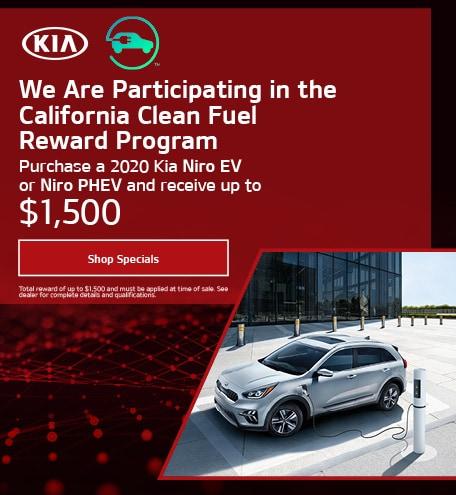 CA Clean Fuel Program - Kia Niro EV & Kia Niro PHEV