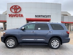 New 2019 Toyota Sequoia Platinum SUV in Enid, OK
