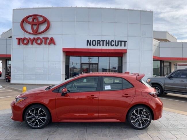 New 2019 Toyota Corolla Hatchback XSE Hatchback Enid, OK