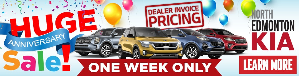 Huge Anniversary Sale! | Dealer Invoice Pricing