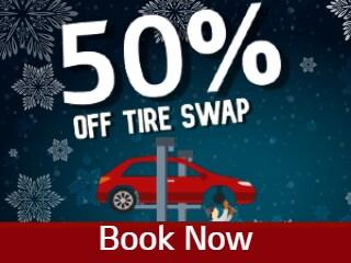 50% Off Tire Swap