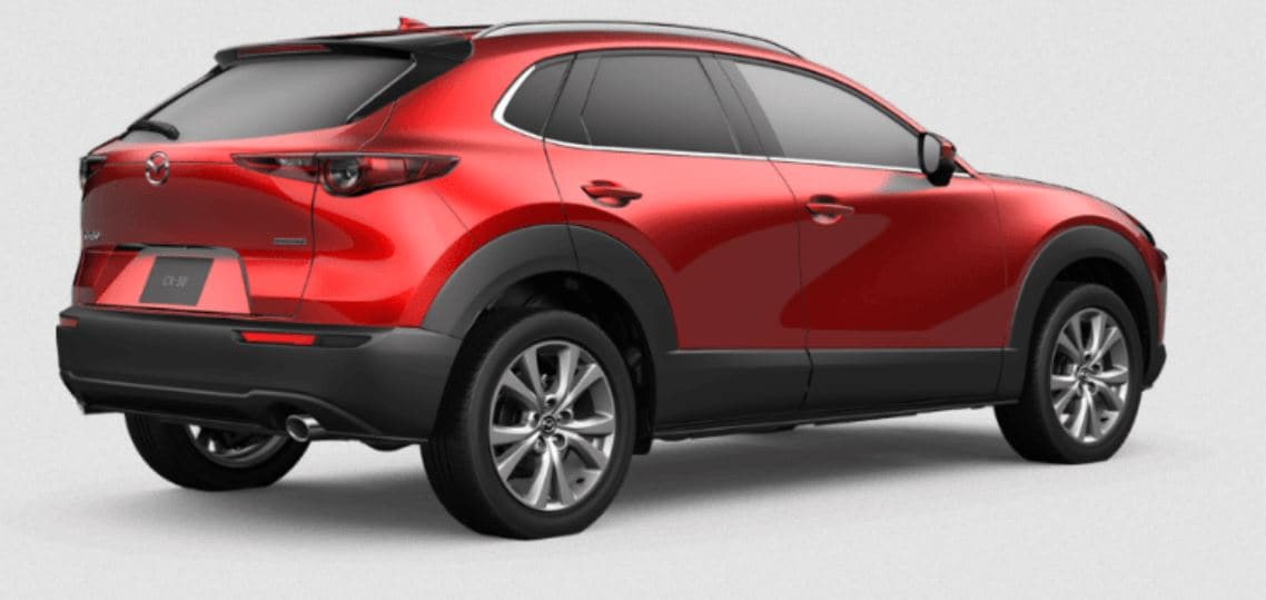 New 2020 Mazda CX-3 in Red
