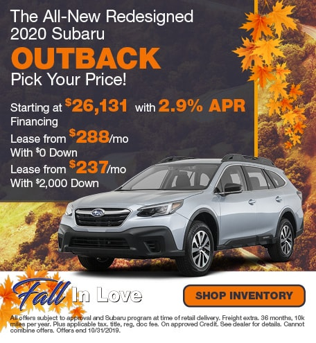 Chase Auto Finance Subaru >> New Subaru Specials At North End Subaru North End Subaru