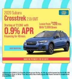 2020 Subaru Crosstrek 2.0i 6MT