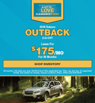New Vehicle Specials | North End Subaru