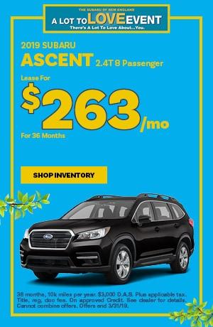 2019 Subaru Ascent Lease