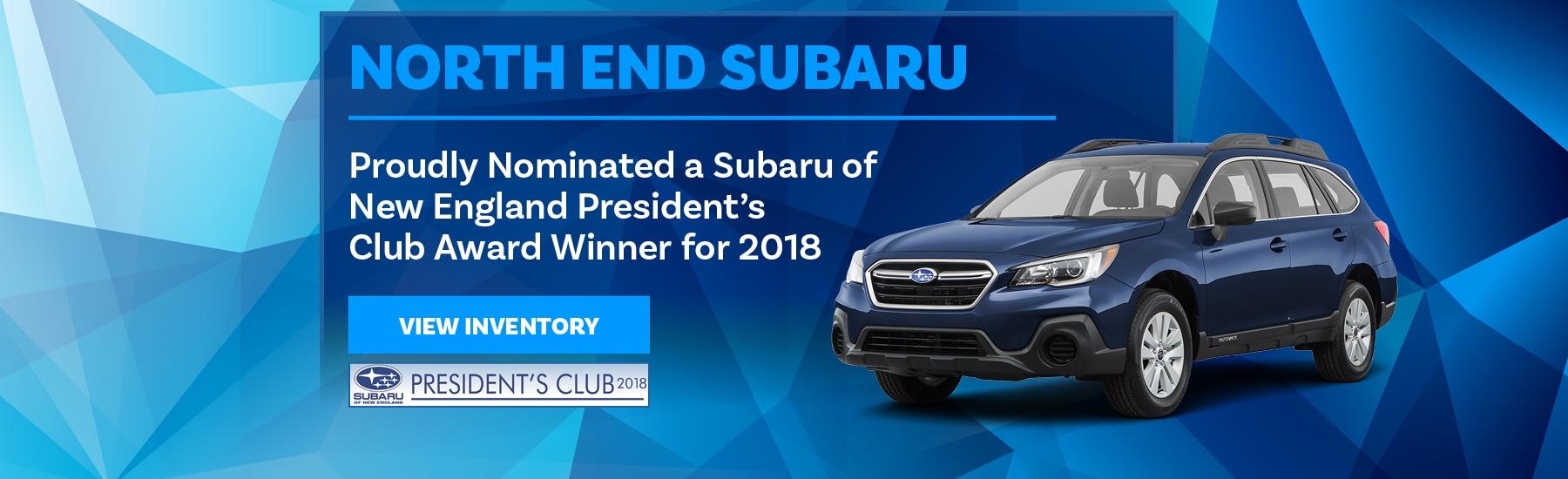 North End Subaru | New Subaru Dealership in Lunenburg, MA