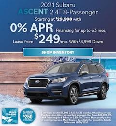 2021 Subaru Ascent 2.4T 8-Passenger