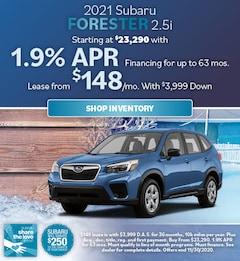 2021 Subaru Forester 2.5i