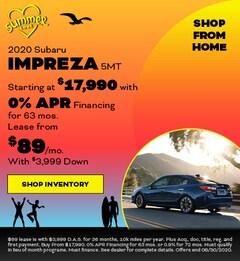 2020 Subaru Impreza 5MT