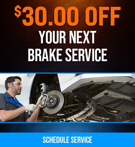 $30.00 Off Your Next Brake Service