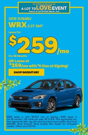New WRX Special