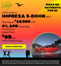 2020 Subaru Impreza 5-Door 5MT