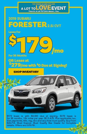 March Forester Special