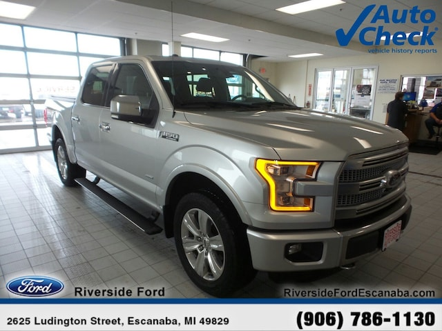 Used 2015 Ford F-150 For Sale at Riverside Ford   VIN
