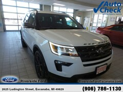 New 2019 Ford Explorer XLT SUV near Escanaba, MI