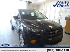 New 2019 Ford Escape S SUV near Escanaba, MI