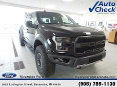 New 2019 Ford F-150 Raptor Truck SuperCrew Cab near Escanaba, MI