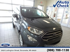 New 2019 Ford EcoSport SE SUV MAJ6S3GL8KC263284 near Escanaba, MI