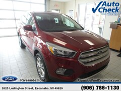 New 2019 Ford Escape SE SUV near Escanaba, MI