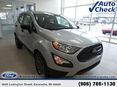 New 2019 Ford EcoSport S SUV MAJ6S3FL3KC268801 near Escanaba, MI