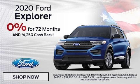 2020 Ford Explorer - February