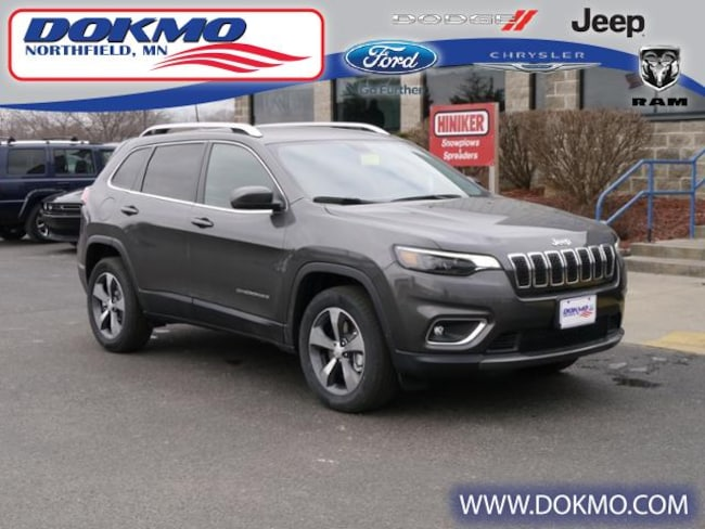 New 2019 Jeep Cherokee LIMITED 4X4 Sport Utility Northfield, MN