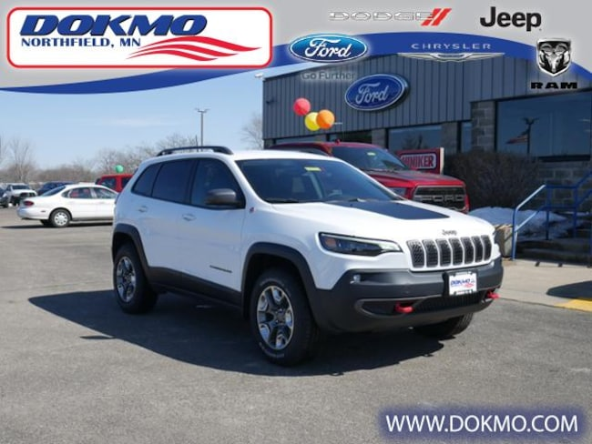 New 2019 Jeep Cherokee TRAILHAWK 4X4 Sport Utility Northfield, MN
