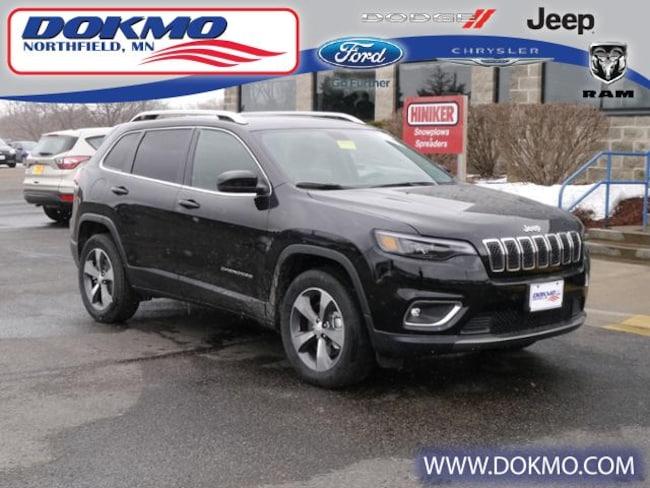 New 2019 Jeep Cherokee LIMITED 4X4 Sport Utility Northfield, MN