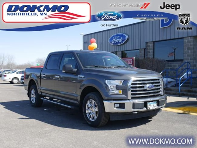 Used 2017 Ford F-150 XLT 4WD Supercrew 5.5 Box Truck in Northfield, MN