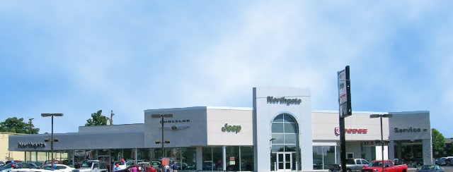The front of our full-service Cincinnati, OH dealership.