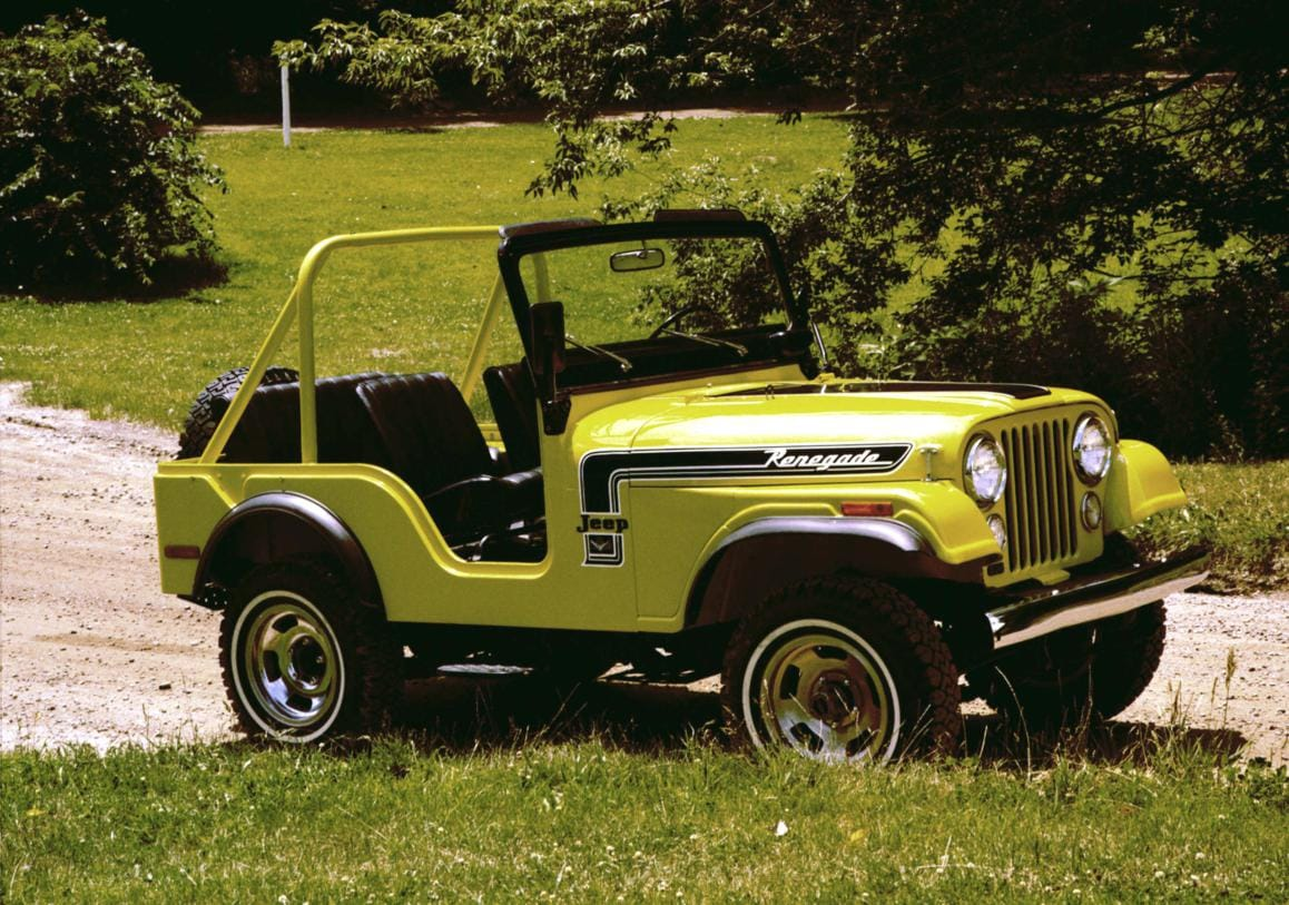 1972-1975 Jeep CJ-5 and CJ-6