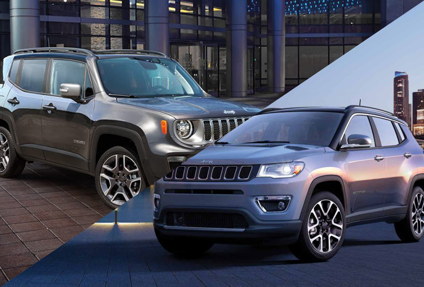 2019 Jeep Compass vs Renegade near Cincinnati, OH