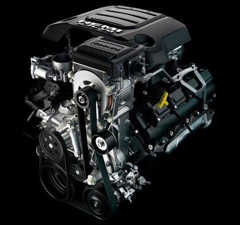 2019 RAM 1500 Engines: 5.7L HEMI Specs & eTorque Explained ... Ram Hemi Engine Block Diagram on