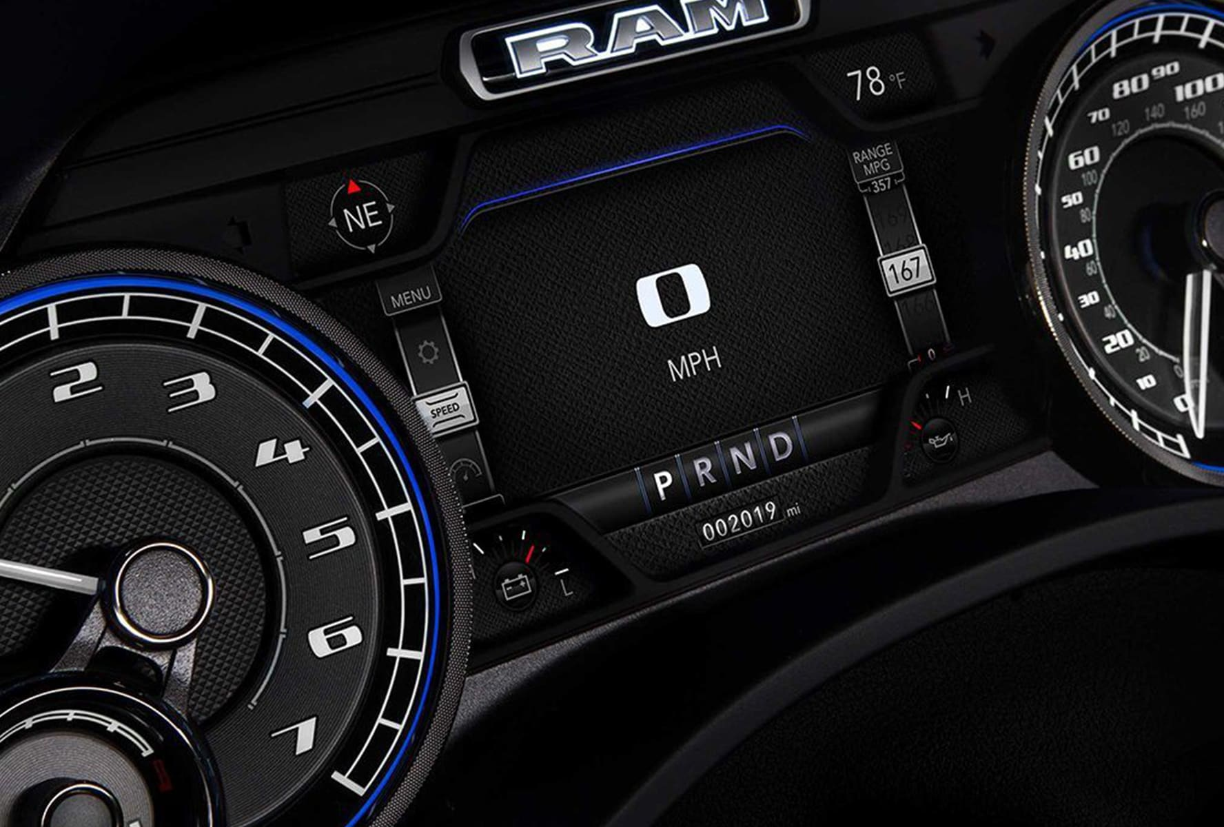 2019 Ram 1500 technology near Cincinnati, OH
