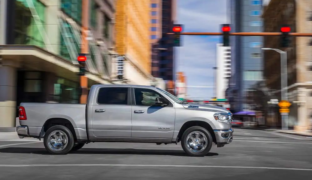 New 2019 RAM 1500 vs Ford F-150 Safety